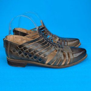 Bed Stu Womens Las Cruces Brown Slip On Shoes 9.5